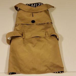 🌴Isaac Mizrahi Dog Trench Coat Size M